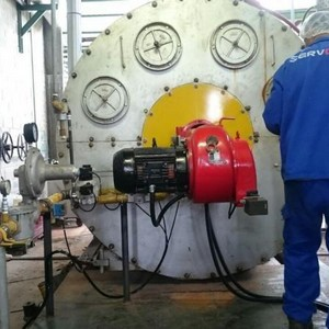 Assistência técnica em queimadores industriais