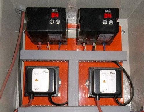 Painel elétrico de controle