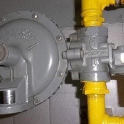 Válvula reguladora de pressão linha de gás